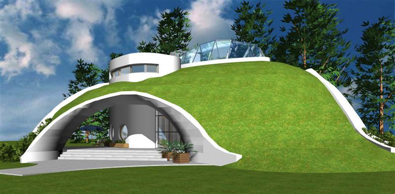 tervezett családi ház