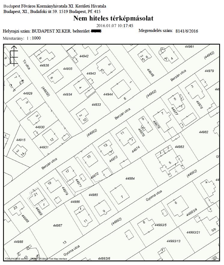 földhivatali térkép Miért is nem használható semmire sem a papír alapú földhivatali  földhivatali térkép